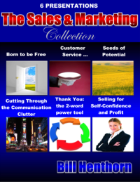 The Sales & Marketing 6-Pack: business speeches and business presentations